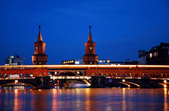 Berlin oberbaumbruecke Royalty Free Stock Image