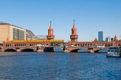Berlin oberbaumbruecke Royalty Free Stock Photo