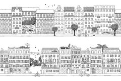 Berlin och Rome baner royaltyfri illustrationer