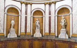 BERLIN - OCTOBER 20, 2016: Statues at Bode museum in Berlin royalty free stock images