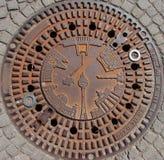 berlin okładkowi manhole zabytki zdjęcia stock