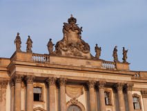 Berlin Old Library. Front view of the old national library (former royal library) at Bebelplatz of Berlin, Germany Stock Photo