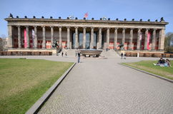 Berlin old museum Royalty Free Stock Photography