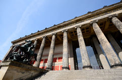 Berlin old museum Royalty Free Stock Image