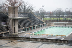 Berlin Olympia Stadium Photo libre de droits