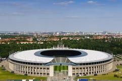 Berlin Olympiastadion stockfotografie