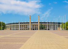 Berlin Olympiastadion Royalty Free Stock Photo