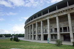 The Berlin Olympiastadion Royalty Free Stock Photo