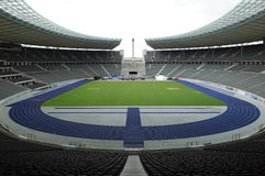 The Berlin Olympiastadion Stock Photography