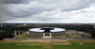 The Berlin Olympiastadion Stock Photos