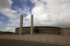 The Berlin Olympiastadion Stock Image