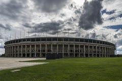 Berlin olympic stadion Arkivfoton