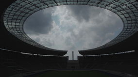 Berlin Olympic Stadium. Berlin, Germany circa July 2014 : Berlin Olympic Stadium stock video