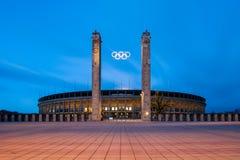 Berlin Olympic Stadium (Olympiastadion) Immagini Stock