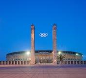 Berlin Olympic Stadium (Olympiastadion) Fotografia Stock