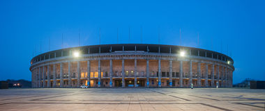 Berlin Olympic Stadium (Olympiastadion) Royalty Free Stock Photography