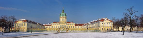 Berlin palace Charlottenburg Royalty Free Stock Image