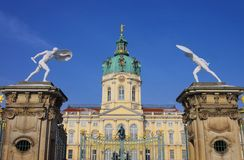 Berlin palace Charlottenburg Royalty Free Stock Image