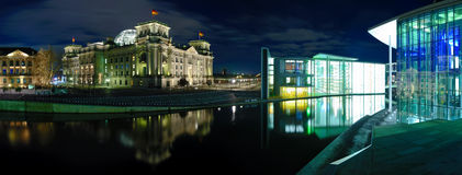 Berlin panorama Royalty Free Stock Images