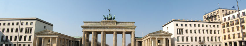 Berlin panorama Royalty Free Stock Image