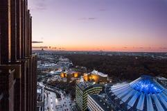 Berlin panorama Arkivfoton