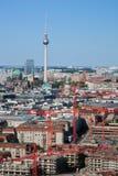Berlin-Panorama. Berlin Cathedral und Fernsehturm stockfoto