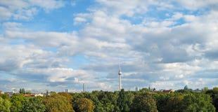 Berlin panorama Stock Photography