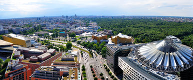 Berlin Panorama Germany Stock Photo