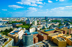 Berlin panorama Royalty Free Stock Photo