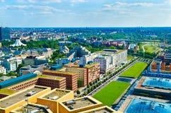 Berlin panorama Royalty Free Stock Photography
