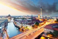 Berlin panorama Royalty Free Stock Photo