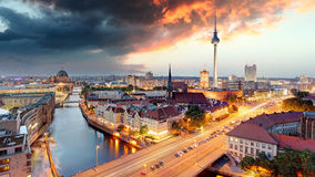 Berlin panorama Royalty Free Stock Images