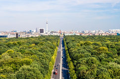 Berlin panorama Royalty Free Stock Photos
