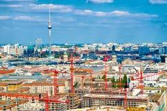 Berlin panorama Royalty Free Stock Image