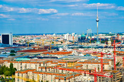 Berlin panorama Stock Image