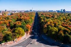 Berlin panoramic view Stock Photo