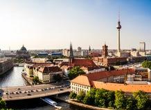 Berlin panoramic view Stock Photos