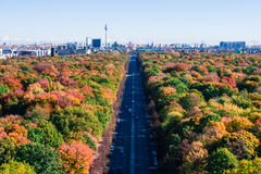 Berlin panoramic view Stock Photography