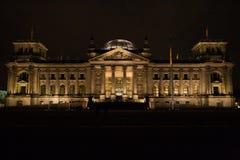 berlin parlament Arkivbild