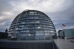 berlin parlamentreichstag arkivbild