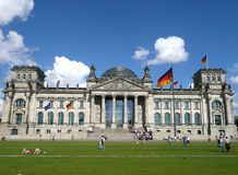 berlin parlamentu reichstag Obraz Royalty Free