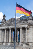 Berlin Parliament Foto de Stock Royalty Free