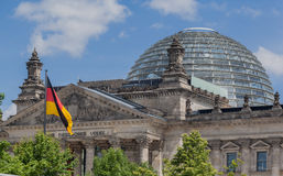 Berlin  Parliament Royalty Free Stock Photography
