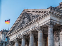 Berlin  Parliament Royalty Free Stock Photos