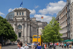 Berlin  Parliament Royalty Free Stock Images