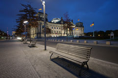Berlin Parliament and Reichstag Royalty Free Stock Photography