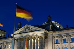 Berlin Parliament and Reichstag Stock Photography