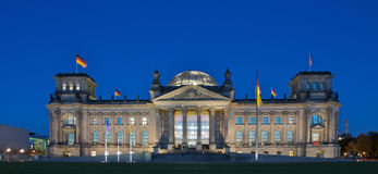 Berlin Parliament and Reichstag Stock Photos