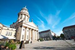 Berlin plaza stock image