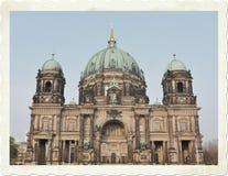 Berlin postcard Royalty Free Stock Image